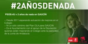 #2añosdenada en Gaucín