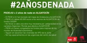 #2añosdeNada en Algatocín